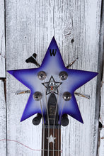 Load image into Gallery viewer, Warwick Bootsy Collins SpaceBass 4 String Electric Bass Guitar Bootsy Purple