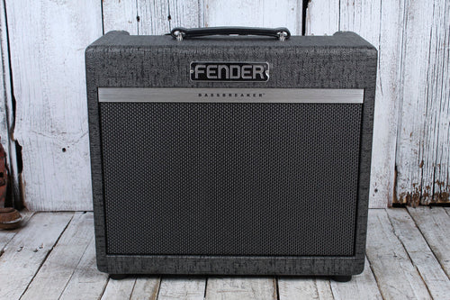 Fender FSR Limited Edition Bassbreaker 15 Watt Gunmetal Electric Guitar Amp