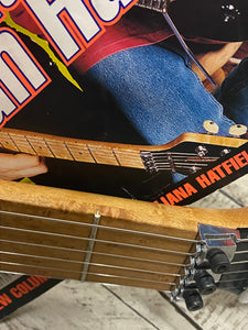 Peavey Wolfgang Owned by Eddie Van Halen EVH #1 Prototype Guitar and Magazine