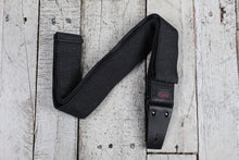 Load image into Gallery viewer, Coffin THE PALLBEARER Guitar Strap Polyester Heathered Grey Strap w Leather Ends