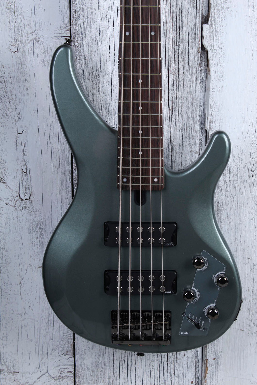 Yamaha 5 String Electric Bass Guitar with EQ Active Circuitry TRBX305 Mist Green