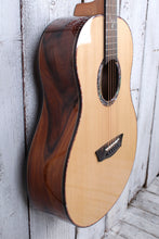 Load image into Gallery viewer, Washburn Bella Tono Elegante S24S Acoustic Guitar Solid Spruce Top Natural NAMM