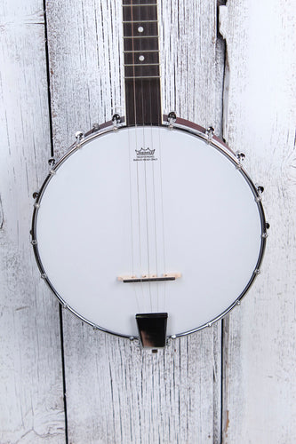 Washburn B7 Americana Series 5 String Open Back Banjo Natural Matte Finish NAMM