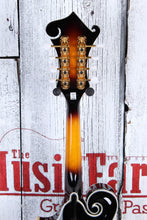Load image into Gallery viewer, Washburn Florentine Cutaway F Style All Solid Mandolin Tobacco Burst w Case NAMM