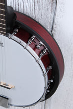 Load image into Gallery viewer, Washburn Americana B8 5 Sting Resonator Banjo Pack with Gig Bag and Strap NAMM
