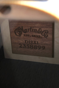 Martin D12X1AE 12 String Dreadnought Acoustic Electric Guitar w Fishman Sonitone