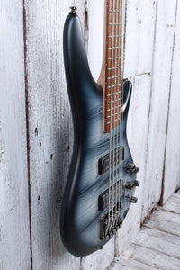 Ibanez SR305E Solid Body 5 String Electric Bass Guitar Black Planet Matte