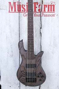Spector NS Pulse Series 5 String Electric Bass Guitar Charcoal Grey with Gig Bag