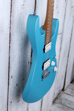 Load image into Gallery viewer, Charvel Pro Mod DK24 HH 2PT CM Electric Guitar Caramelized Maple Blue Frost
