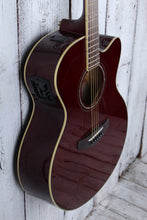 Load image into Gallery viewer, Yamaha Medium Jumbo Cutaway Acoustic Electric Guitar CPX600 Rootbeer Finish