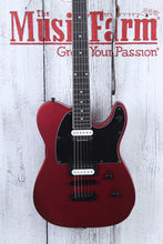 Load image into Gallery viewer, Dean NashVegas Select Metallic Red Satin Solid Body Electric Guitar SAMPLE