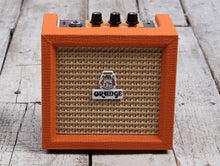 Load image into Gallery viewer, Orange Crush Mini Orange Electric Guitar Amplifier 3 Watt Solid State Combo Amp