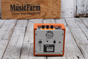 Orange Crush Mini Orange Electric Guitar Amplifier 3 Watt Solid State Combo Amp