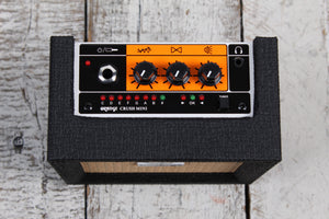 Orange Crush Mini Black Electric Guitar Amplifier 3 Watt Solid State Combo Amp
