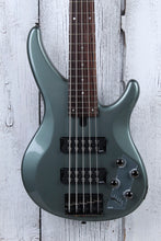 Load image into Gallery viewer, Yamaha TRBX305 5 String Electric Bass Guitar with EQ Active Circuitry Mist Green