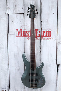 Yamaha TRBX305 5 String Electric Bass Guitar with EQ Active Circuitry Mist Green
