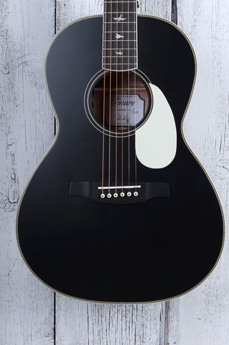 Paul Reed Smith SE P20E Parlor Acoustic Electric Guitar Black Top with Gig Bag
