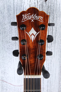 Washburn Comfort Series G55CE KOA Grand Auditorium Acoustic Electric Guitar NAMM
