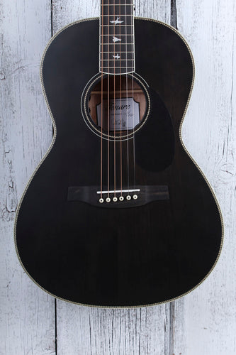 Paul Reed Smith SE P20E Parlor Acoustic Electric Guitar Charcoal with Gig Bag