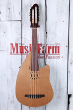 Load image into Gallery viewer, Godin Multi Oud Encore Nylon Fretless 11 String Acoustic Electric Oud w Gig Bag