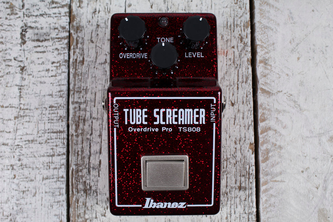 Ibanez TS808 40th Anniversary Limited Edition Tube Screamer Guitar Effects Pedal