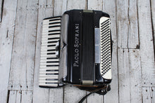 Load image into Gallery viewer, Paolo Soprani Accordion 41 Key Piano Keyboard Accordion w Straps Made In Italy