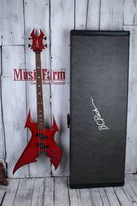 Used BC Rich NJ Series Beast Bass w/ Case