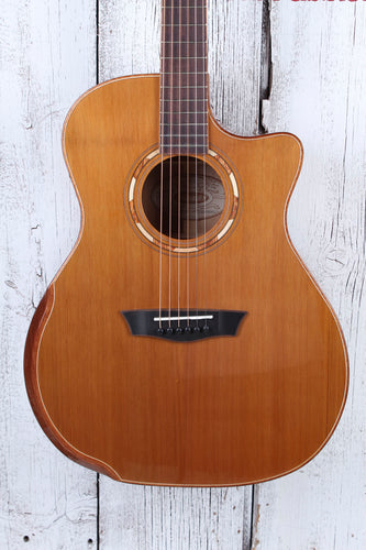 Washburn G66SCE Spalt Maple Grand Auditorium Acoustic Electric Guitar Natural