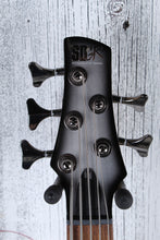 Load image into Gallery viewer, Ibanez SR305E 5 String Electric Bass Guitar w Power Tap Metallic Silver Sunburst