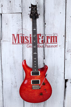 Load image into Gallery viewer, PRS Custom 24 Electric Guitar Figured Maple Top Blood Orange with Hardshell Case