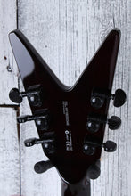 Load image into Gallery viewer, Dean V Select Series Quilt Top Solid Body Electric Guitar Black Finish SAMPLE