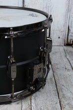 Load image into Gallery viewer, Tama LST148 Sound Lab Project Series Big Black Steel 8x14 Snare Drum Flat Black