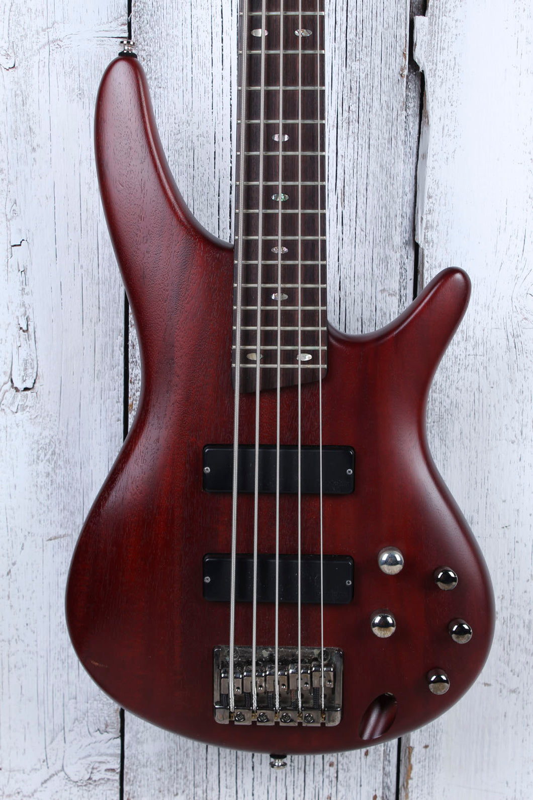 Ibanez Soundgear SR505 5 String Electric Bass Guitar with Hardshell Case