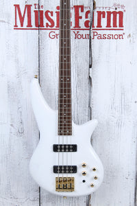 Jackson JS Series Spectra Bass JS3 4 String Electric Bass Guitar Snow White