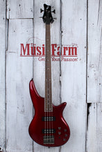 Load image into Gallery viewer, Jackson JS Series Spectra Bass JS3 4 String Electric Bass Guitar Metallic Red