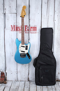 Fender Vintera '60s Mustang Electric Guitar Lake Placid Blue Finish with Gig Bag