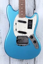Load image into Gallery viewer, Fender Vintera '60s Mustang Electric Guitar Lake Placid Blue Finish with Gig Bag