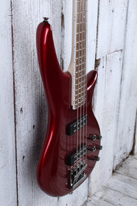 Jackson JS Series Spectra Bass JS3 4 String Electric Bass Guitar Metallic Red