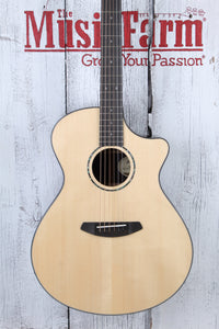 Breedlove Premier Concerto CE Acoustic Electric Guitar with Hardshell Case DEMO