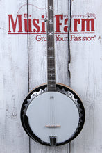 Load image into Gallery viewer, Washburn B10 Americana Series 5 String Resonator Back Banjo Gloss Sunburst NAMM