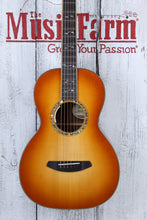 Load image into Gallery viewer, Breedlove Masterclass Parlor Exclusive Acoustic Electric Guitar with Case DEMO