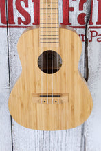 Load image into Gallery viewer, Kala Bamboo Concert Ukulele All Solid Bamboo Uke Satin Natural Finish KA-BMB-C