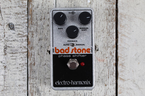 Electro Harmonix Bad Stone Pedal Electric Guitar Phase Shifter Effects Pedal
