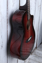 Load image into Gallery viewer, Breedlove USA LTD Oregon Concert Sunset Burst Acoustic Electric Guitar with Case