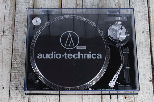 Audio Technica AT-LP120-USB Turntable Direct Drive Professional Turntable Black