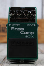 Load image into Gallery viewer, Boss BC-1X Bass Compressor Electric Bass Guitar Effects Pedal with FREE Cables