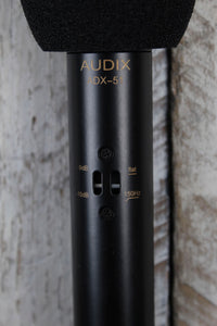Audix ADX51 Cardioid Studio Condenser Microphone with Windscreen and Clip