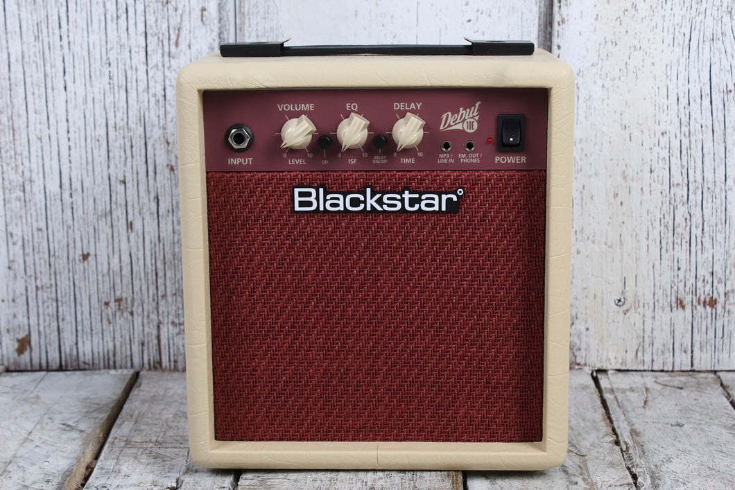 Blackstar Debut 10E Electric Guitar Practice Amplifier 10 Watt 2 x 3 Combo Amp