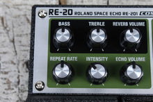 Load image into Gallery viewer, Boss Roland RE-20 Space Echo Delay Pedal Electric Guitar Delay Effects Pedal