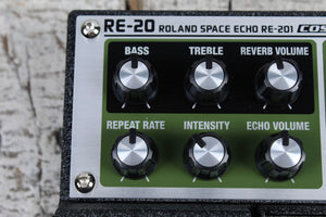 Boss Roland RE-20 Space Echo Delay Pedal Electric Guitar Delay Effects Pedal
